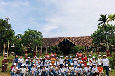 Trường Tiểu học Lê Lợi tổ chức tham quan, trải nghiệm cho học sinh khối  5. Năm học 2020- 2021