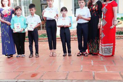 """Hội thi """"Rung chuông Vàng- khối 3 """" trường Tiểu học Lê Lợi:"""